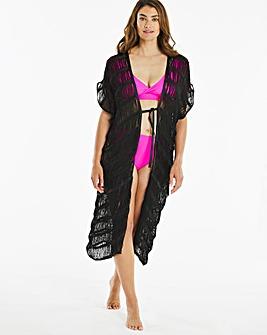 Tassel Maxi Kimono