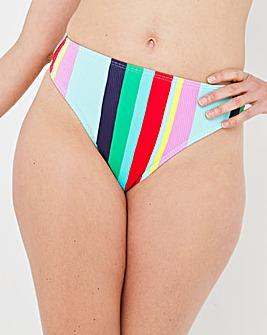 Mix and Match Textured Bikini Brief