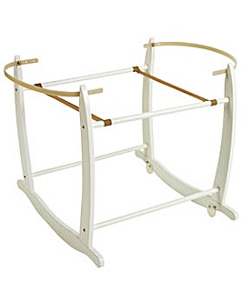 Cuggl Deluxe Moses Basket Stand - White