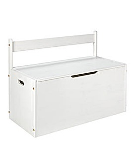 Scandinavia White Extra Large Toy Box