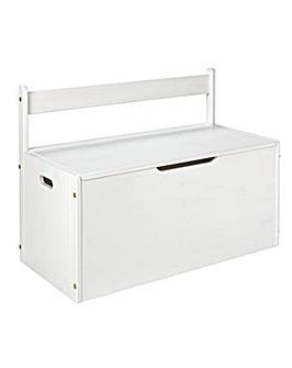 Scandinavia White Extra Large Toy Box