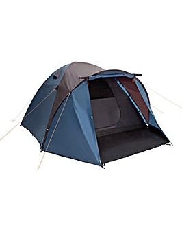 Trespass 6 Man Darkened Room Dome Tent