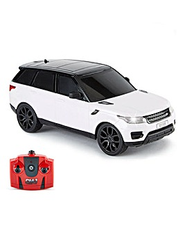1:24 RC Range Rover Sport White Remote Control Car