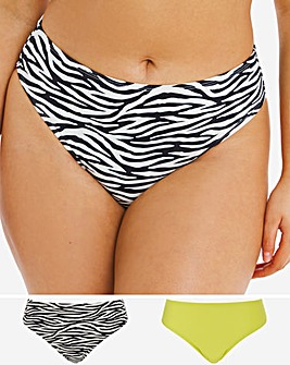 Basic Value Two Pack Bikini Briefs