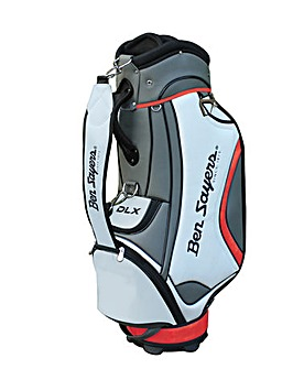 Ben Sayers DLX Tour Bag - White/Red