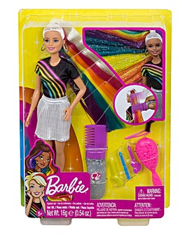 Barbie Rainbow Sparkle Style Doll
