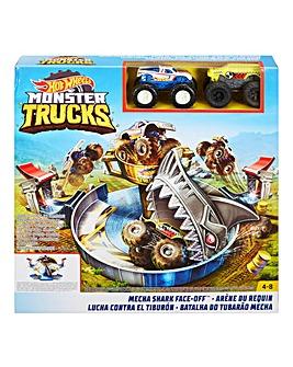Hot Wheels Monster Trucks Shark Play Off