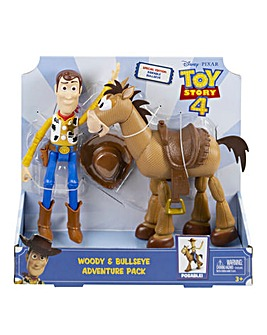 Disney Toy Story 4 Woody & Bullseye