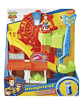 Imaginext Toy Story 4 Carnival Play Set