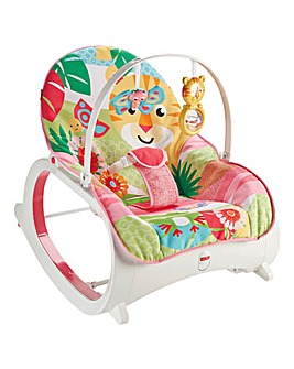 Fisher-Price Infant-Toddler Rocker Pink