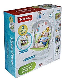 Fisher-Price Rainforest Take Along Swing