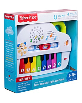 Fisher-Price Silly Sounds Light Up Piano