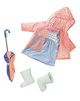 Our Generation Deluxe Outfit - Brighten up a Rainy Day