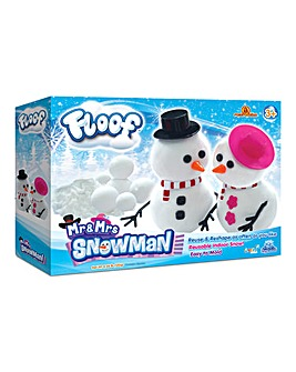 Floof! Mr and Mrs Snowman Box