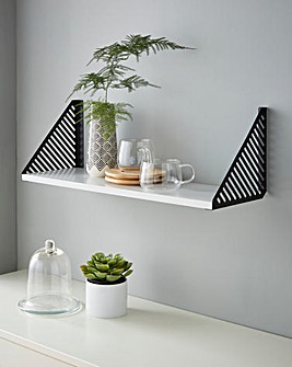 Black Wall Shelf