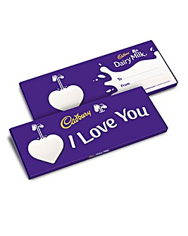 Cadbury Love You Dairy Milk 850g bar