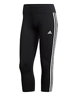 adidas 3 Stripe 3/4 Pant