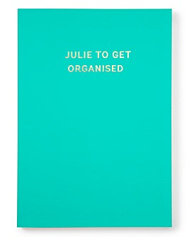 Personalised Colourblock Undated Diary