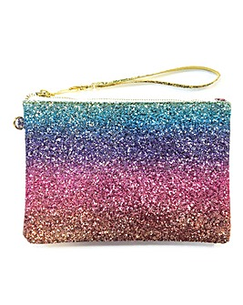 All That Glitters Rainbow Pouch