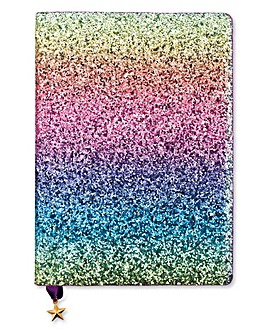 All That Glitters A5 Rainbow Notebook