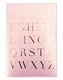 Pink Champagne Address Book