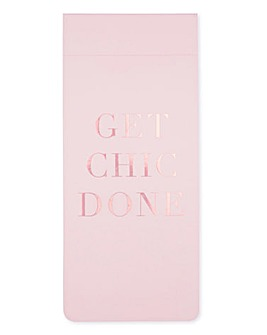 Pink Champagne To Do List & Notebook