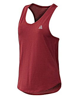 Reebok Workout Mesh Back Tank Top