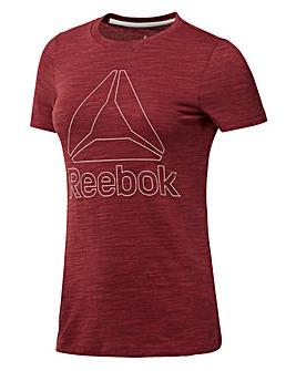 Reebok Marble Logo T-Shirt