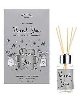 Wax Lyrical Reed Diffuser Thanks Card