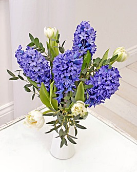 Hyacinth Posy with free Vase