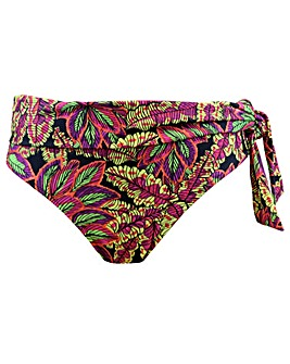 Pour Moi Heatwave Fold Over Tie Brief