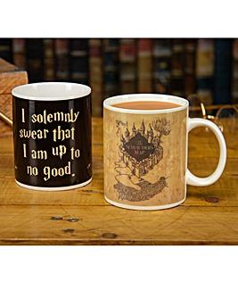 Harry Potter Mauraders Map Mug