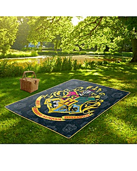 Harry Potter Hogwarts Picnic Blanket