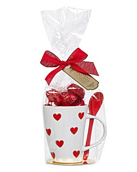Love Mug & Belgian Chocolate Pralines