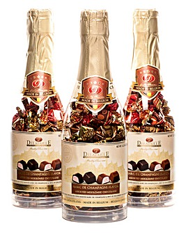 Bottle of Champagne Chocolates
