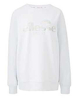 Ellesse Paris Large Logo Crew Sweat