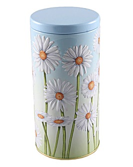 Daisy Embossed Tin Crumbles