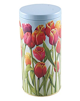 Tulip Embossed Tin Crumbles