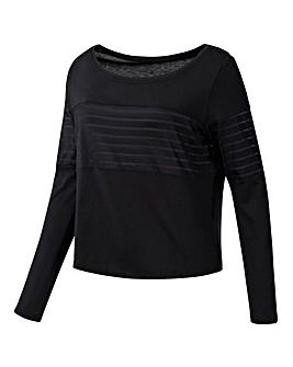 Reebok Mesh Long Sleeve Top