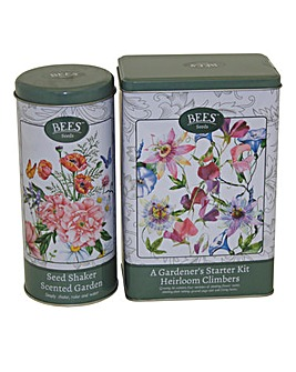 Garden Gift Tin Twin Pack