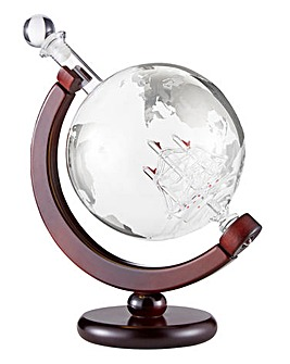 85cl Globe Ship Decanter