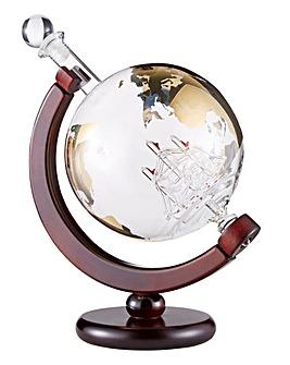 85cl Globe Ship Decanter