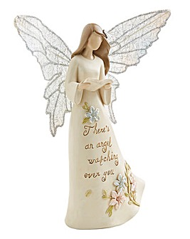 Watching Over You Angel Figurine