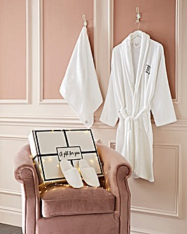 Personalised Robe Gift set