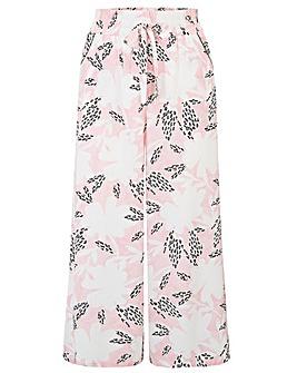 Pour Moi Wild Floral Cropped Trouser