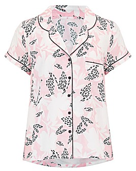 Pour Moi Wild Floral Print Shirt