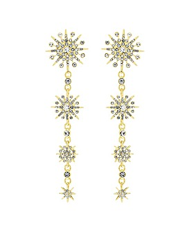 Lipsy Gold Celestial Drop Earring