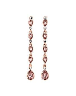 Mood Tonal Pink Linear Drop Earrings