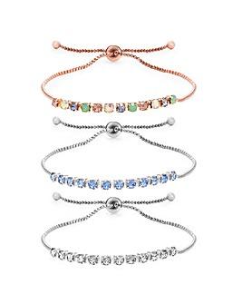 Mood 2 Pack Toggle Bracelets