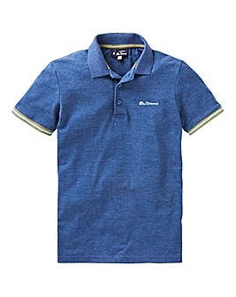 Ben Sherman Collar Print Polo